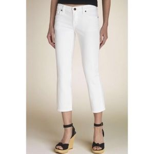 2/$30 Citizens of Humanity  White Cropped Jeans
